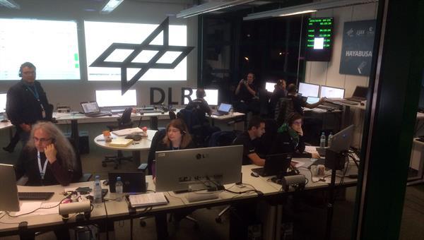 MASCOT-Kontrollzentrum in Köln