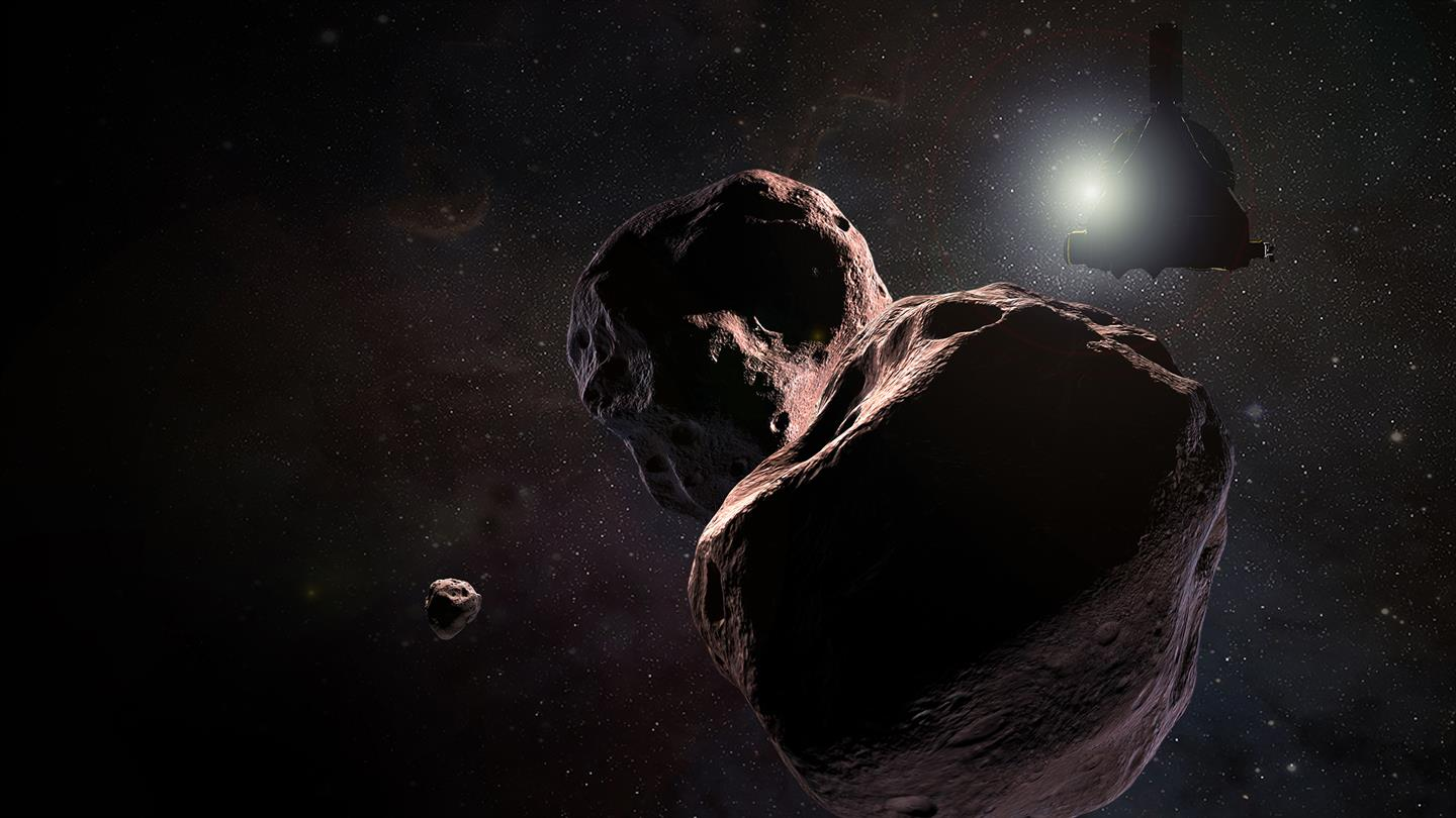 New Horizons arrives at Ultima Thule