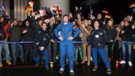 Alexander Gerst: Ankunft beim DLR in Köln