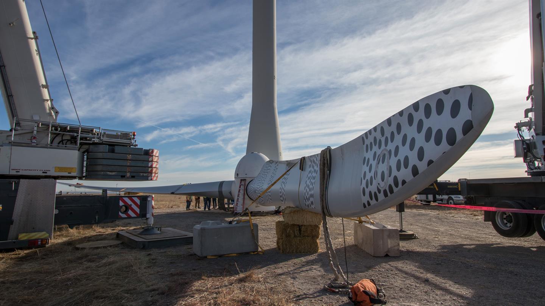 SmartBlades2: field experiments begin in Colorado