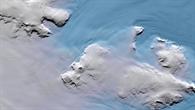 TanDEM%2dX Höhenmodell des Thwaites Gletschers in der Westantarktis
