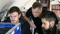 DLR%2dForscher im Forschungsflugzeug Falcon