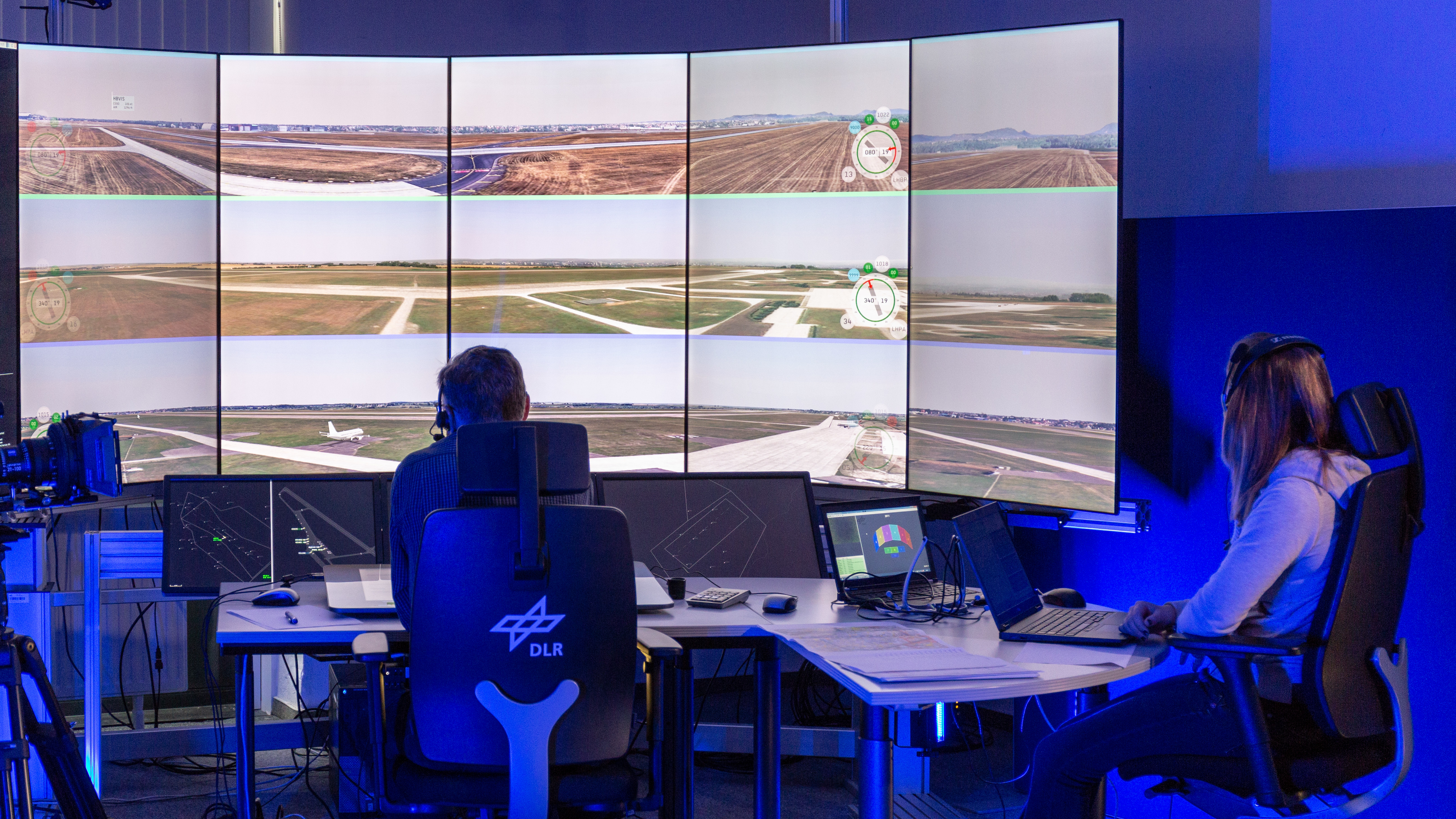 DLR tests a new Multiple Remote Tower concept
