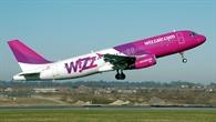 Flugzeugstart einer A320 der Wizzair
