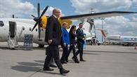 Bundeskanzlerin Merkel und Wirtschaftsminister Altmaier besuchen 1. Nationalen Luftfahrtkongress