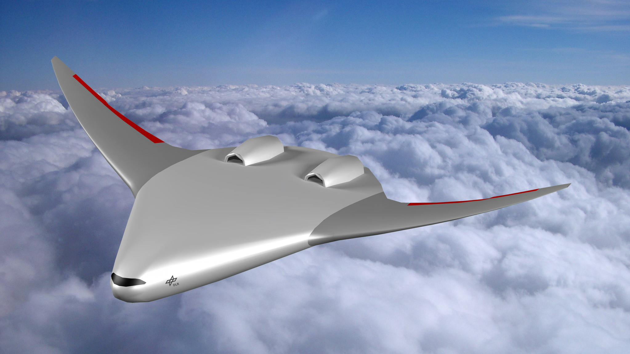 Aircraft Of The Future Dlr Is Studying Blended Wing