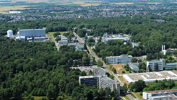 Luftbild des DLR%2dStandorts Köln