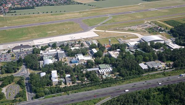 Luftaufnahme des DLR Braunschweig