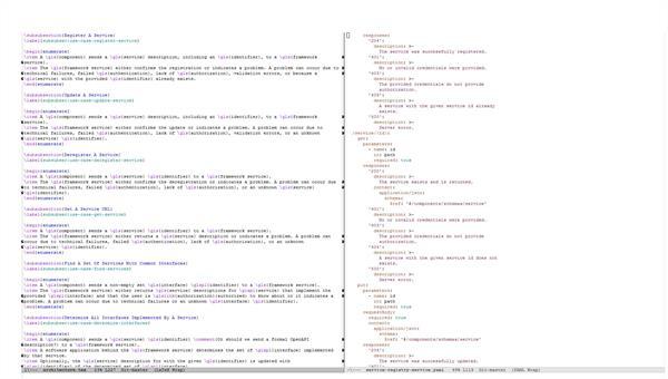 Methode zum automatischen Vergleich von formal spezifizierten REST%2dWebservices