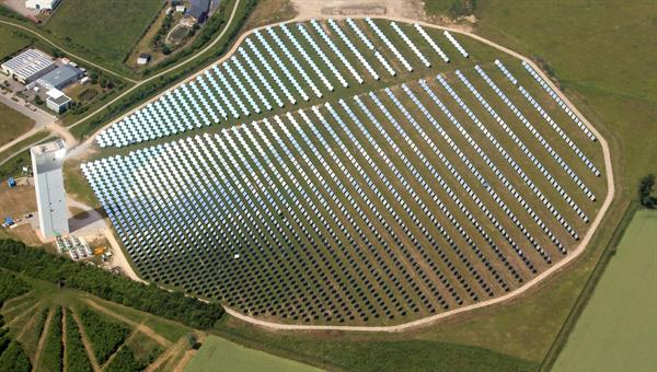 Solarturm%2dTestanlage des DLR