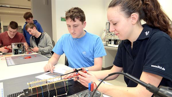 Ausbildungssituation in der Elektronikausbildung