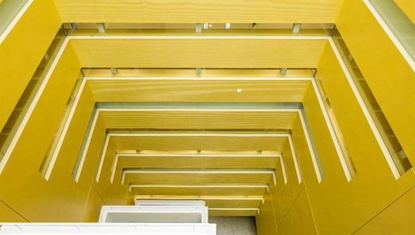 Stuttgart Gebäude H Atrium