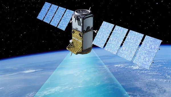 Satellit, Copyright: ESA 2004 %2d P.CARRIL