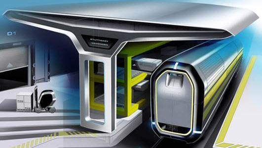 Spezifikation, Auslegung und Konstruktion eines modularen Energieversorgungskonzepts für autonome Güterwagen