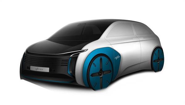 Inter Urban Vehicle %2d ein Fahrzeugkonzept aus dem DLR Next Generation Car Projekt
