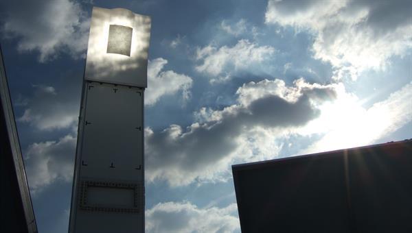 Solarturm Jülich in Betrieb