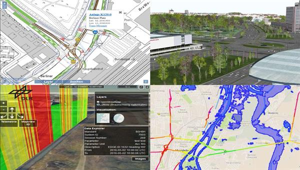 hochgenaue Karten für Test und Entwicklung des automatischen Fahrens in Simulatoren und Testfahrzeugen
