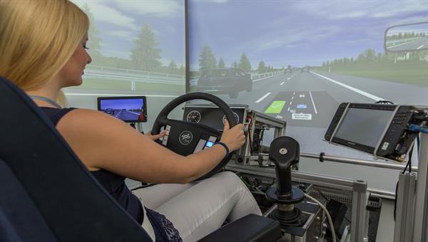 Labor zur Konzepterprobung von automatisierten Fahrzeugen