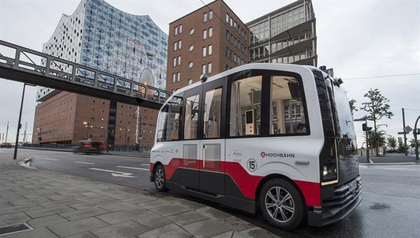 Wie können wir fahrerlose Shuttles maximal nutzerfreundlich gestalten? (Bild: Hamburger Hochbahn)