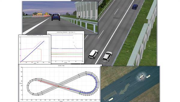 Weiterentwicklung von Simulationswerkzeugen für automatisierte Fahrzeuge