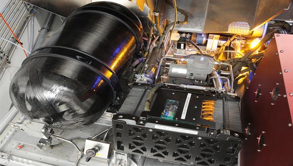 Flugfähiges Brennstoffzellensystem für ATRA