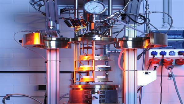Konduktive Erwärmung innovativer HochtemperaturstrukturenHochtemperaturstrukturen