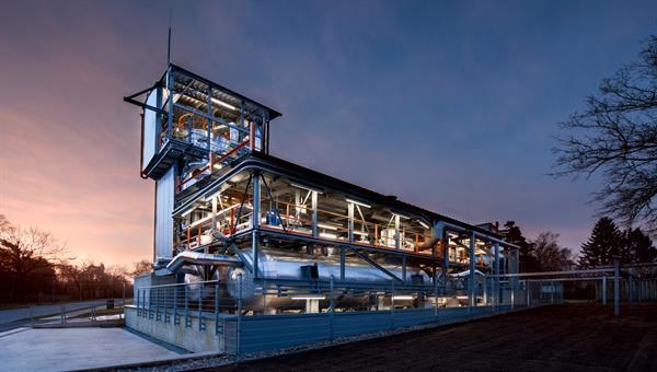 Testanlage für Wärmespeicherung in Salzschmelzen (TESIS)