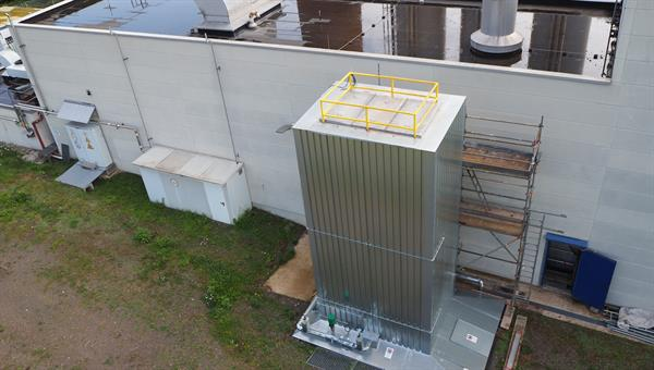 Storage integrated in cogeneration plant