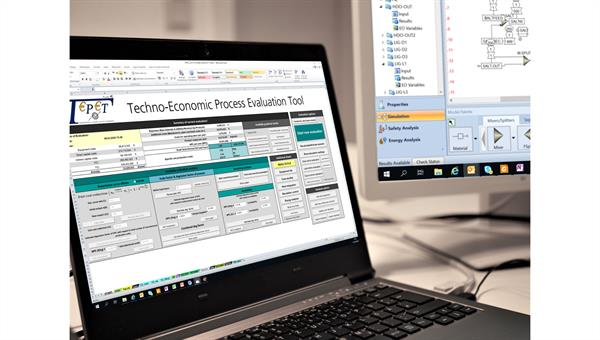 Techno%2dökonomische Analyse mittels des in%2dhouse Tools TEPET
