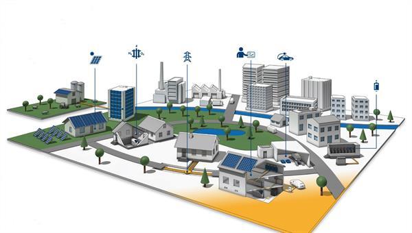 Optimierung dezentral organisierter Energiesysteme