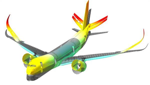 Viskoelastische Dämpfungsoptimierung von Flügelschwingungen