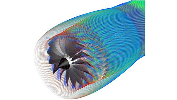 Instationäre TAU Simulation eines Fanschaufelkranzes