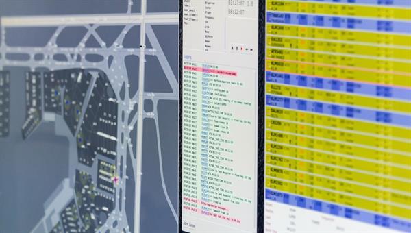 Entwicklung und Erprobung von Verfahren zur Simulation und Bewertung des Luftverkehrs an Verkehrsflughäfen