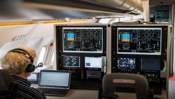 Flugversuchseinrichtungen