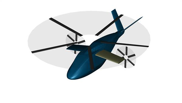Flugleistungsberechnung von Drehflüglern