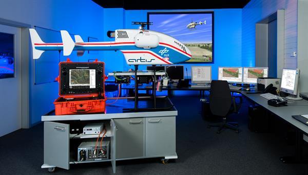 Flugversuchsträger superARTIS mit Simulationsumgebung