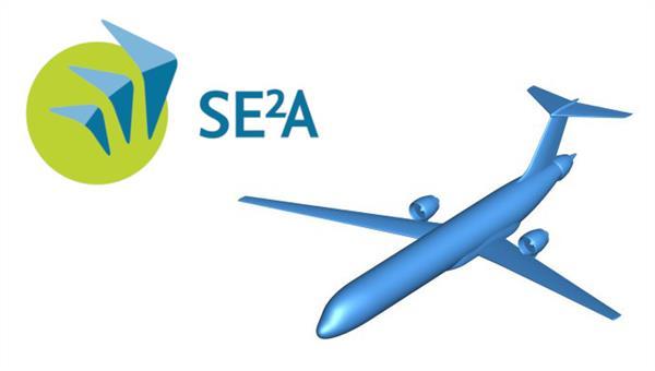 Mittelstreckenflugzeug Konfiguration für SE2A Technologieentwicklungen