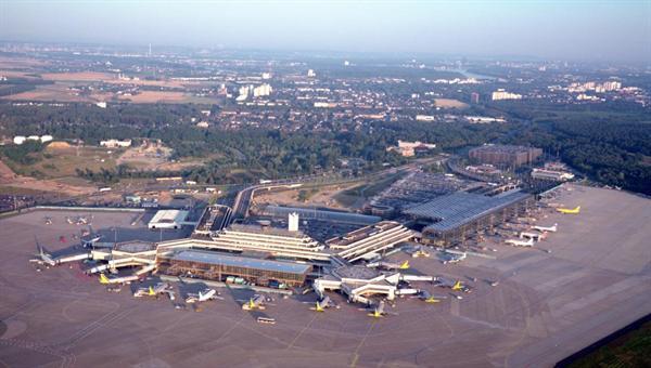 Luftaufnahme Flughafen Köln%2dBonn