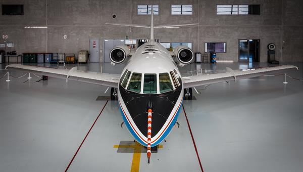 Forschungsflugzeug Falcon