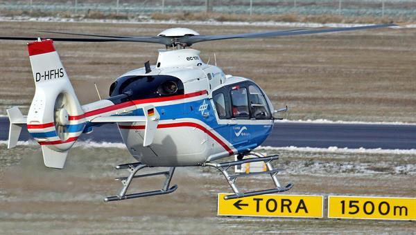 Forschungshubschrauber EC135 ACT/FHS