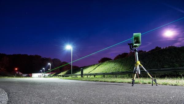 Laserstrahlung im Freiraum