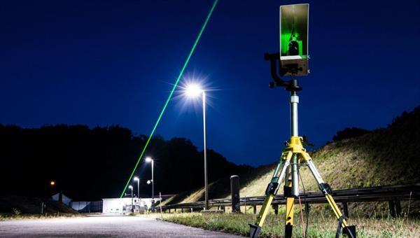 Propagation von Laserstrahlung auf der Freistrahlstrecke in Lampoldshausen