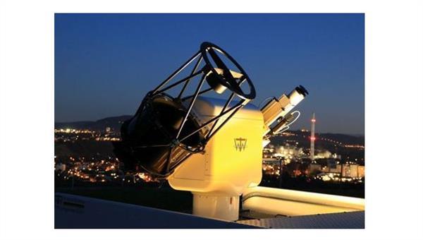 Laserbasierte Ortung von Weltraumschrott