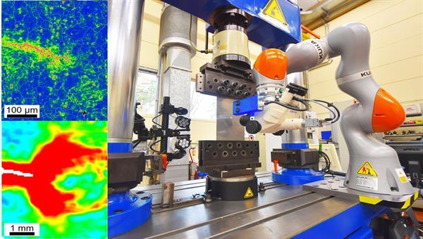 Erfassung komplexer Rissfortschrittsmechanismen auf Makro%2d und Mikroebene durch automatisierte digitale Methoden