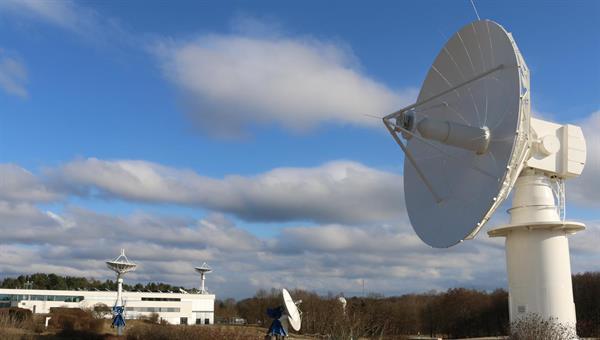 Satellitenbodenstation des DFD in Neustrelitz