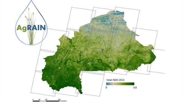 Satellitenbildauswertung für die Reiskartierung in Burkina Faso