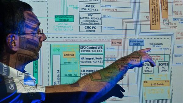 Präsentation der IT%2dInfrastruktur des Daten%2d und Informationssystems