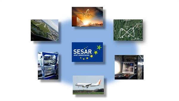 """SESAR"" (Single European Sky ATM Research Program) %2d zukünftiges Flugverkehrsmanagement"