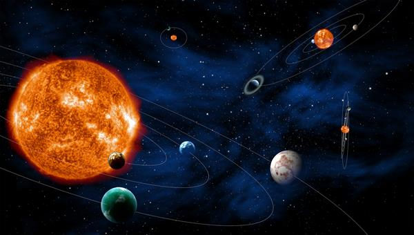 Searching for exoplanetary systems. Credit: ESA/C. Carreau