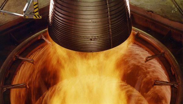 Betreuung von Großprüfständen für Raketentriebwerke